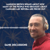 Medicinal Cannabis Pioneer Helps Thousands While Beating His Case with Langdon Brown | DANK Discussions hosted by Maynard Breslow | Presented by Calacann Media